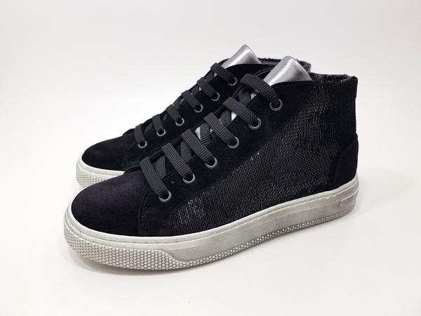 Sneaker alta bambina